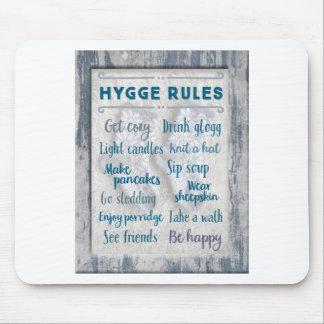 Hygge Regeln Mousepad