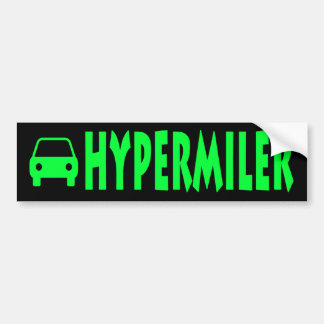 Hypermiler Autoaufkleber