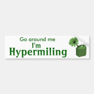 Hypermiling Autoaufkleber I