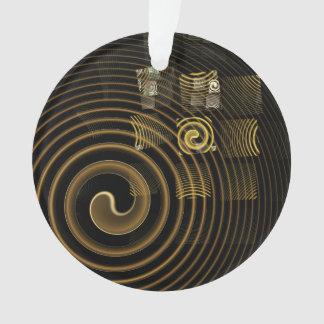 Hypnose-abstrakter Kunst-Acryl-Kreis Ornament