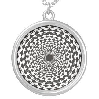 Hypnose Versilberte Kette