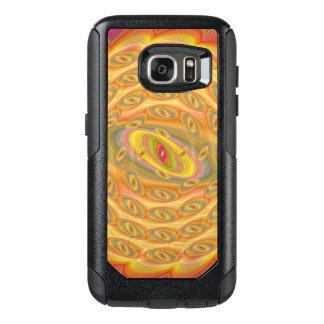 Hypnotische Augen des Sun OtterBox Samsung Galaxy S7 Hülle