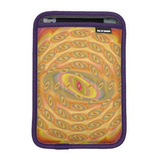 Hypnotische Augen des Sun Sleeve Für iPad Mini