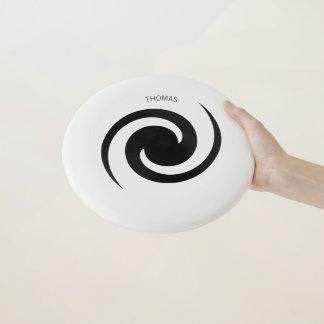 Hypnotischer GalaxieFrisbee mit individuellem Wham-O Frisbee