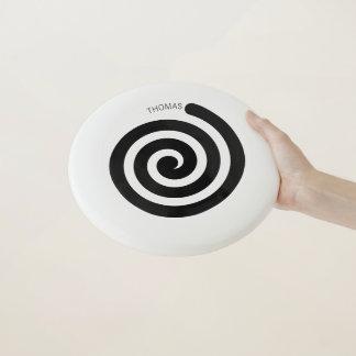 Hypnotischer gewundener Frisbee mit individuellem