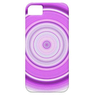 Hypnotischer Kreis lila iPhone 5 Schutzhülle