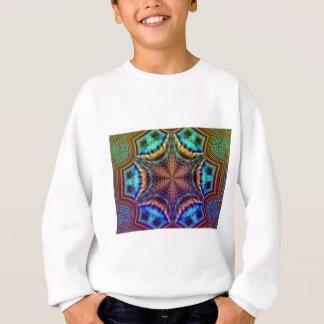 Hypnotisches AusstrahlenFraktal Sweatshirt