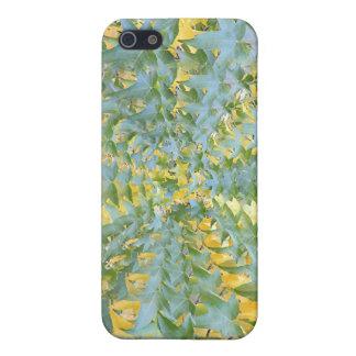 Hypnotisches Blätter iPhone 5 Cover