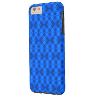 Hypnotisches Blau Tough iPhone 6 Plus Hülle