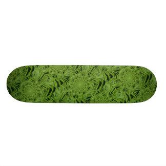 """""""Hypnotisches Korb-Grün-"""" Skateboard Individuelle Skateboards"""