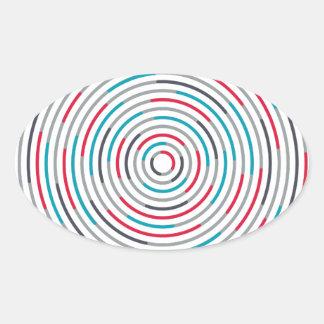 #Hypnotize Ovaler Aufkleber