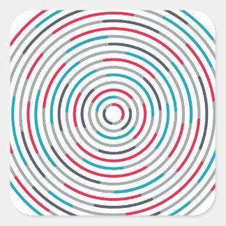 #Hypnotize Quadratischer Aufkleber