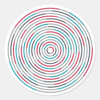 #Hypnotize Runder Aufkleber