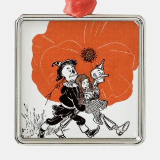 i111_edit Zauberer Silbernes Ornament