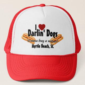 I <3 Darlin die Hunde - wollen Sie, um ein weiner Truckerkappe