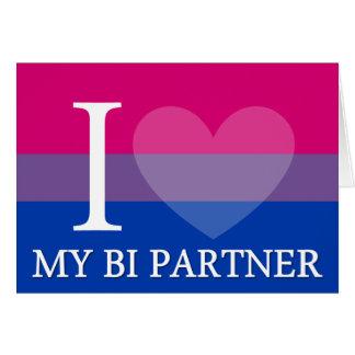 I <3 mein Bi-Partner Karte