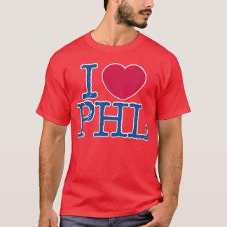 I <3 PHL Shirt-(rot/Blau) rotes Shirt
