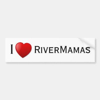 I <3 RiverMamas Autoaufkleber