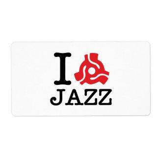 I 45 Adapter-Jazz Versandetikett
