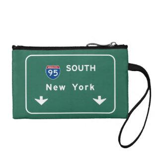 I-95 zwischenstaatliche New York Landstraße des Münzbeutel