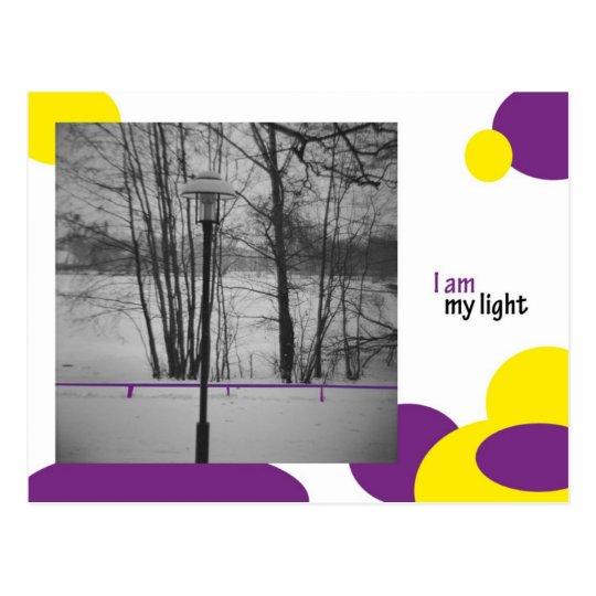 I am my light postkarte