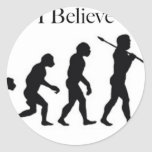I Believe - UFO Round Sticker