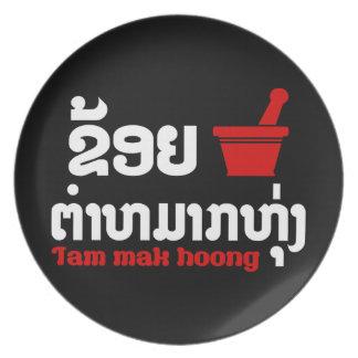 I Bok Bok (Liebe) Tam Mak Hoong Melaminteller