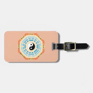 I Ching Yin Yang Gepäckanhänger