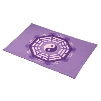 I Ching Yin Yang Stofftischset