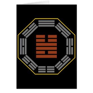"I ChingHexagram 55 Feng ""Überfluss "" Karte"