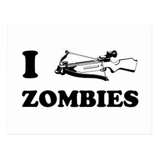 I Crossbow-Zombies Postkarte