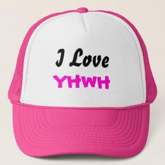 I Damen-Kappe der Liebe-YHWH Truckerkappe