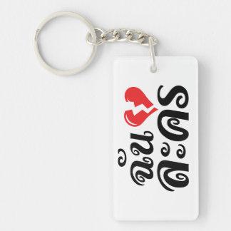 I defektes Herz (Liebe) Lakhon ★ thailändische Schlüsselanhänger