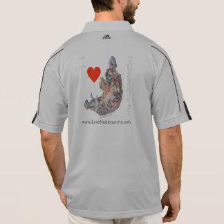 I der Adidas-Trainings-Pullover Liebe Nudibranchs Polo Shirt