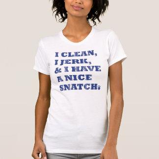 I der saubere i Ruck und ich haben ein nettes T-Shirt