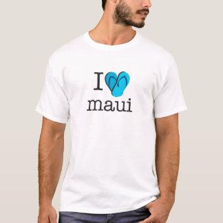 I drehen Herz Maui Reinfälle um T-Shirt
