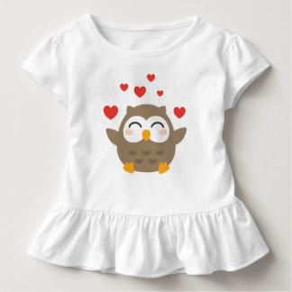 I Eule Sie Illustration Kleinkind T-shirt