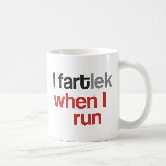 I FARTlek, wenn ich © - lustiges FARTlek Tasse