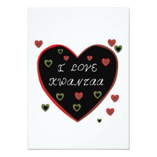 I Feiertags-Party Einladungen Liebe-Kwanzaas