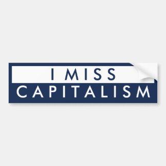 I Fräulein Capitalism Auto Aufkleber