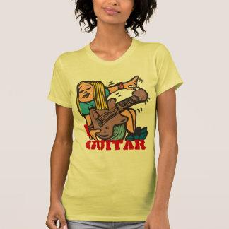 I Gitarre - abstimmende Gitarre des Hemd