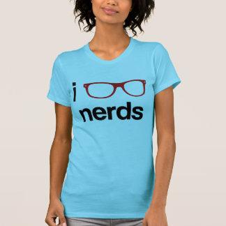 I: Gläser: Nerds T-shirt