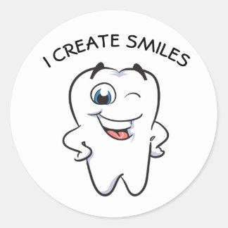 I glauben dir SMILES! Runder Aufkleber
