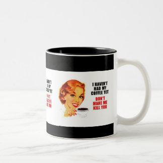 I havent hatten mein coffe schon zweifarbige tasse