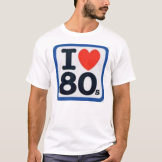 I Herz-80er T-Shirt