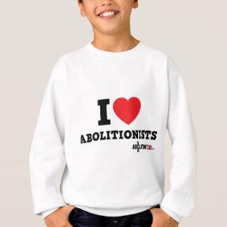 I Herz-Abolitionisten Sweatshirt