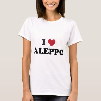 I Herz Aleppo Syrien T-Shirt