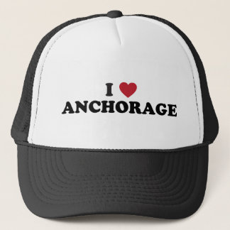 I Herz-Anchorage Alaska Truckerkappe