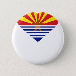 I Herz Arizona Runder Button 5,7 Cm