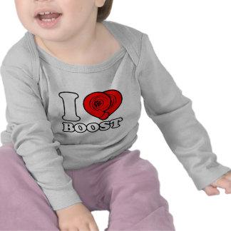 I Herz-Auftrieb T-shirt